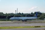 こうきさんが、成田国際空港で撮影したユナイテッド航空 777-322/ERの航空フォト(写真)