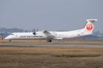 ITM58さんが、福岡空港で撮影した日本エアコミューター DHC-8-402Q Dash 8の航空フォト(写真)