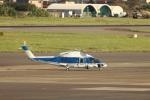 MIRAGE E.Rさんが、名古屋飛行場で撮影したファーストエアートランスポート S-76C++の航空フォト(写真)