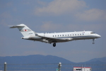 ITM58さんが、福岡空港で撮影した国土交通省 航空局 BD-700-1A10 Global Expressの航空フォト(写真)