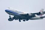 mameshibaさんが、成田国際空港で撮影したチャイナエアライン 747-409F/SCDの航空フォト(写真)