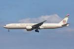 よんろくさんが、成田国際空港で撮影したエティハド航空 777-3FX/ERの航空フォト(写真)