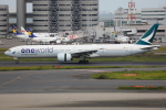 Tia spotterさんが、羽田空港で撮影したキャセイパシフィック航空 777-367/ERの航空フォト(写真)