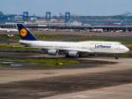 名無しの権兵衛さんが、羽田空港で撮影したルフトハンザドイツ航空 747-830の航空フォト(写真)