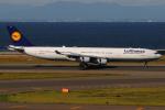 きんめいさんが、中部国際空港で撮影したルフトハンザドイツ航空 A340-313Xの航空フォト(写真)