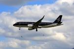 tsubameさんが、福岡空港で撮影したスターフライヤー A320-214の航空フォト(写真)