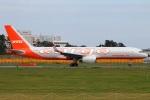 たみぃさんが、成田国際空港で撮影したアビアスター 757-223(PCF)の航空フォト(写真)