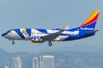 Tomo-Papaさんが、ロサンゼルス国際空港で撮影したサウスウェスト航空 737-7H4の航空フォト(写真)