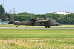 sepia2016さんが、宇都宮飛行場で撮影した陸上自衛隊 UH-60JAの航空フォト(写真)