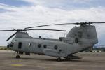 Mr.boneさんが、普天間飛行場で撮影したアメリカ海兵隊 CH-46Eの航空フォト(写真)