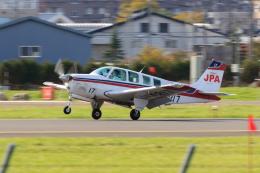 noriphotoさんが、札幌飛行場で撮影したジェイピーエー A36 Bonanza 36の航空フォト(飛行機 写真・画像)