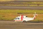 MIRAGE E.Rさんが、名古屋飛行場で撮影した朝日航洋 S-76Cの航空フォト(写真)