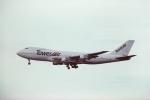 tassさんが、マッカラン国際空港で撮影したタワーエア 747-212Bの航空フォト(飛行機 写真・画像)
