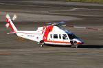 なごやんさんが、名古屋飛行場で撮影した朝日航洋 S-76Cの航空フォト(写真)