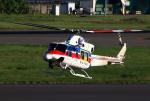 なごやんさんが、名古屋飛行場で撮影した国土交通省 地方整備局 412EPの航空フォト(写真)