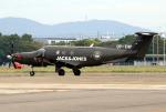 なごやんさんが、名古屋飛行場で撮影したデンマーク企業所有 PC-12/47Eの航空フォト(写真)