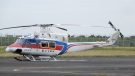 ゴンタさんが、東京ヘリポートで撮影した国土交通省 地方整備局 412EPの航空フォト(写真)