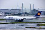 まいけるさんが、羽田空港で撮影したルフトハンザドイツ航空 747-830の航空フォト(写真)