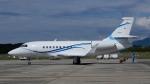 ゴンタさんが、静岡空港で撮影した静岡エアコミュータ Falcon 2000EXの航空フォト(写真)