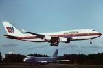 tassさんが、成田国際空港で撮影したユナイテッド航空 747-422の航空フォト(写真)
