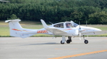 ゴンタさんが、庄内空港で撮影した日本法人所有 DA42 TwinStarの航空フォト(写真)