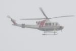 500さんが、自宅上空で撮影した朝日航洋 412EPの航空フォト(写真)