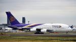 FlyingMonkeyさんが、成田国際空港で撮影したタイ国際航空 A380-841の航空フォト(写真)