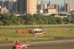 MIRAGE E.Rさんが、名古屋飛行場で撮影した新日本ヘリコプター 407の航空フォト(写真)