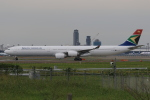 みるぽんたさんが、成田国際空港で撮影した南アフリカ航空 A340-642の航空フォト(写真)