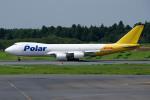 apphgさんが、成田国際空港で撮影したポーラーエアカーゴ 747-87UF/SCDの航空フォト(写真)