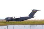 kazuchiyanさんが、岩国空港で撮影したアメリカ空軍 C-17A Globemaster IIIの航空フォト(写真)