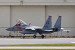 鈴鹿@風さんが、嘉手納飛行場で撮影したアメリカ空軍 F-15C-34-MC Eagleの航空フォト(写真)
