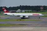 apphgさんが、成田国際空港で撮影したスイスインターナショナルエアラインズ A340-313Xの航空フォト(写真)