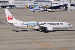 きんめいさんが、中部国際空港で撮影した日本トランスオーシャン航空 737-8Q3の航空フォト(写真)
