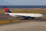 きんめいさんが、中部国際空港で撮影したデルタ航空 A330-223の航空フォト(写真)