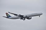 厦龙さんが、成田国際空港で撮影した南アフリカ航空 A340-642の航空フォト(写真)