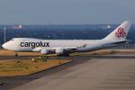 きんめいさんが、中部国際空港で撮影したカーゴルクス 747-4EVF/ER/SCDの航空フォト(写真)
