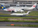 名無しの権兵衛さんが、羽田空港で撮影した中国企業所有 Gulfstream G650ER (G-VI)の航空フォト(写真)