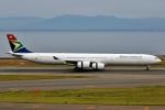 SKY TEAM B-6053さんが、中部国際空港で撮影した南アフリカ航空 A340-642の航空フォト(写真)