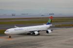 じゃりんこさんが、中部国際空港で撮影した南アフリカ航空 A340-642の航空フォト(写真)
