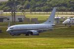鈴鹿@風さんが、嘉手納飛行場で撮影したアメリカ海軍 C-40A Clipper (737-7AFC)の航空フォト(写真)