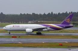 ぱん_くまさんが、成田国際空港で撮影したタイ国際航空 777-2D7/ERの航空フォト(飛行機 写真・画像)