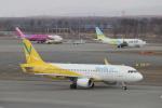 kenzy201さんが、新千歳空港で撮影したバニラエア A320-214の航空フォト(写真)