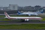 Mochi7D2さんが、羽田空港で撮影したガルーダ・インドネシア航空 777-3U3/ERの航空フォト(写真)