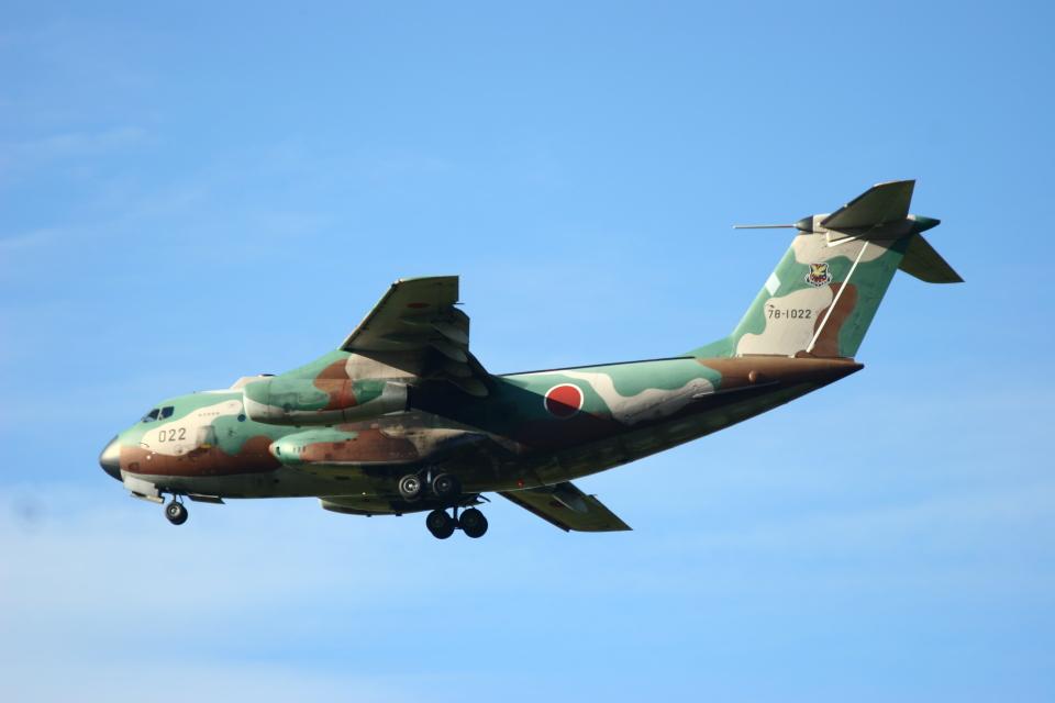 Mr.boneさんの航空自衛隊 Kawasaki C-1 (78-1022) 航空フォト