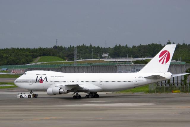 日本アジア航空 Boeing 747-200 JA8154 成田国際空港  航空フォト   by senyoさん