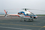 Gambardierさんが、岡山空港で撮影した朝日新聞社 AS355N Ecureuil 2の航空フォト(写真)