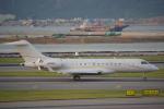 JA8037さんが、香港国際空港で撮影したアメリカ個人所有 BD-700-1A10 Global 6000の航空フォト(写真)