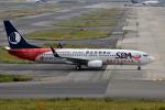 we love kixさんが、関西国際空港で撮影した山東航空 737-85Nの航空フォト(写真)