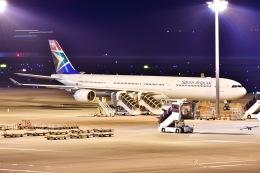 EY888さんが、中部国際空港で撮影した南アフリカ航空 A340-642の航空フォト(写真)